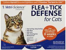 3 dose box Flea & Tick Defense for Cats and Kittens Vetri-Science