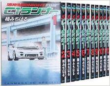 Wangan Midnight C1 runner manga set Book Complete 1 - 12