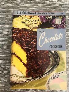 Vintage 1965 Culinary Arts Chocolate Cookbook