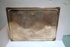 """SHAH'S COURT MEDALLION 84 SILVER LARGE TRAY BY:SEFARESH 811.50 GR SIZE:15"""" X 11"""""""