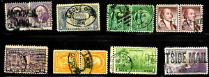 Collection Cancels Year Date CDS Oval Town SON 1-6 Cent US 18B51