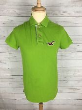 Men's Hollister Polo Shirt - Small - Green - Great Condition
