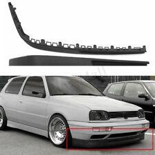 For VW Golf MK3 3 VR6 Euro Front Deep Bumper Chin Spoiler Lip Body Kit Splitter
