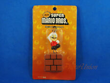 NINTENDO SUPER MARIO Bros CUBE BRICK Figure Cake Topper Decoration + Sound A632A