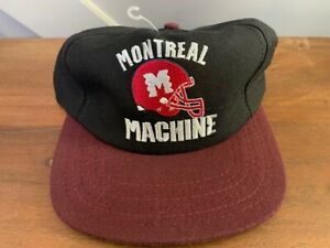 WLAF Montreal Machine Vintage Hat. New with tags.  World League. American Needle