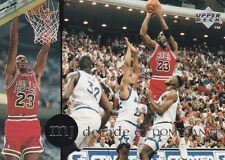 CHICAGO BULLS MICHAEL JORDAN 1994 UPPER DECK RARE AIR #80 DECADE OF DOMINANCE