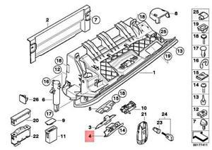 Genuine BMW E93 E93N Cabrio Lower Glove Compartment Box Lock OEM 51169130769