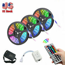 50FT LED Strip Lights 3528 RGB SMD Fairy String W/ Remote Xmas Party TV