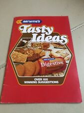 McVities Tasty Ideas - Mary Berry (Editor) - Rare Vintage Competition Winners
