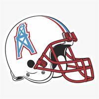 Houston Oilers #2 NFL Logo Die Cut Vinyl Decal Buy 1 Get 2 FREE