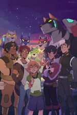 "Voltron Legendary Defender ""Your Favorite Paladins"" Print Poster by Ikimaru BNIB"