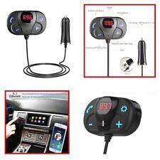 Mini Bluetooth FM Transmitter ,Cigarette lighter Port 12V/24V -Handsfree/TF Port