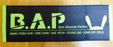 KPOP B.A.P 2016 LIVE ON EARTH CONCERT OFFICIAL LIMITED SLOGAN