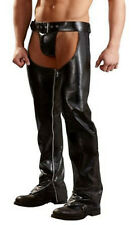 Faux Leather / Latex Look Men's Chaps Trousers