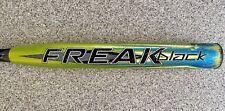 "SHAVED/ROLLED/POLY Miken Freak Black Maxload 34"" 26oz Softball Bat USSSA"