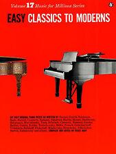 Piano fáciles clásicos modernos aprender a jugar libro de música clásica Purcell de Czerny