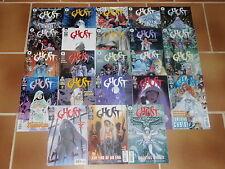 GHOST N°1 à 22 + 3 COMICS OFFERTS   DARK HORSE COMICS 1998-2000 (VO)