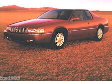 2000 CADILLAC ELDORADO Brochure / Catalog with Color Chart: ETC, Touring Coupe