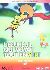 """DVD DIGIPACK NEUF """"L'ECUREUIL QUI VOYAIT TOUT EN VERT"""" 3 films d'animation"""