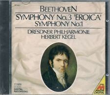 CD CLASSIQUE--BEETHOVEN--SYMPHONIE N° 1 & 3 / EROICA
