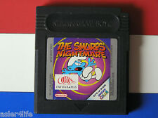 THE SMURFS' NIGHTMARE - GAME BOY COLOUR - GBC