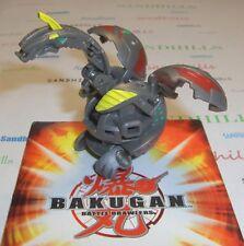 Bakugan Helios Gray Pyrus Maxus Helios 650G & cards