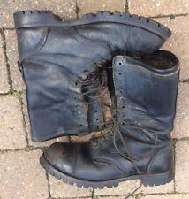 """Commando"" Vintage Steel Cap Combat Style Boots 12 Eye UK Size 9"