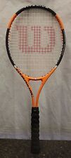 Wilson Titanium Soft Shock 3 Tennis Racquet Orange & Black 108347-2 (R) AAA-14