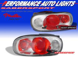 Set of Pair Chrome Altezza Style Taillights for 1990-1997 Mazda MX-5 Miata