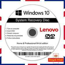Lenovo Windows 10 Home & Professional Recovery Repair Install Boot Disc Software