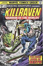 Amazing Adventures Comic Book #33 Killraven, Marvel Comics 1975 FINE+
