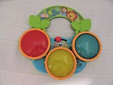 Bright Starts ~ Safari Beats Musical Toy, 2 Modes: Drum Mode & Melody Mode