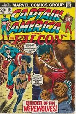 Captain America #164 1st Nightshade Tilda Johnson Marvel 1973 VG Englehart Weiss