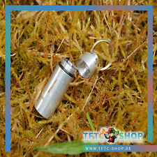 3 Stück Mini-Pillendose Alu Geocaching Vesteck GEOCACHE