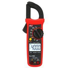 Uni T Digital Clamp Meter True Rms Multimeter Ac Dc Volt Amp Ohm Cap Ncv Tester