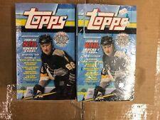 2 BOX LOT - 2001-02 Topps Factory Sealed Hobby Hockey Box Mario Lemieux AUTO RC
