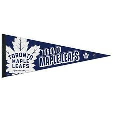 "TORONTO MAPLE LEAFS ROLL UP PREMIUM FELT PENNANT 12""x30"" BRAND NEW WINCRAFT"