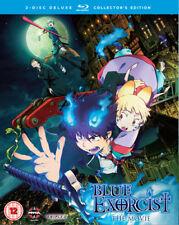 Blue Exorcist: The Movie Blu-Ray (2014) Atsushi Takahashi cert 12 2 discs