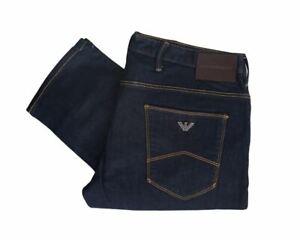 Mens Emporio Armani 8N1J06 1DLPZ J06 Slim Fit Jeans Denim Blue RRP £130