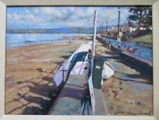 Tony Williams (1946-) British IMPRESSIONIST MARINE Oil Painting INSTOW N. DEVON