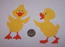2 Ducks PAPER Die Cuts / Scrapbook & Card Making