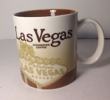 Starbucks Las Vegas 2009 Global Icon Collector Series 16 Oz Coffee Cup Mug