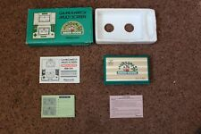 BOXED NINTENDO GAME AND WATCH GREEN HOUSE GH-54 1982 VERY GOOD CONDITION