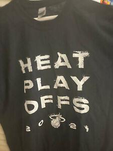 Miami Heat  NBA Playoff Black T Shirt vs Milwaukee Bucks Giannis Antetokounmpo