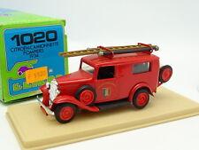 Eligor 1/43 - Citroen 500KG Pompiers 1934