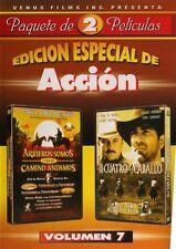 DVD - Spanish - Edicion Especial De Accion - Eran Cuatro De A Caballo