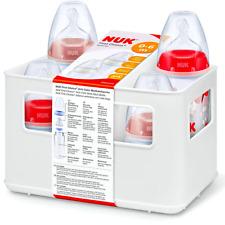 NUK FIRST CHOICE+ Baby Anti-Colic SET 4x Babyflaschen+Trinksaugern 0-6 Mon rosa