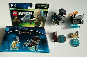 Lego Dimensions Lot Lord of the rings 71218 (2x) + 71220