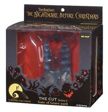 HTF Tim Burton's The Nightmare Before Christmas GATE of GRAVE YARD The Cut BIN