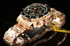 Invicta Men's 52mm Coalition Forces Silver Rose Gold Chronograph Military Watch